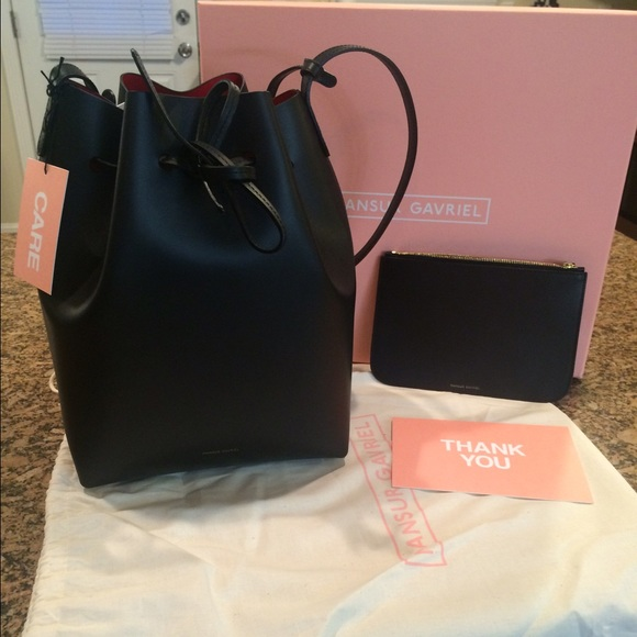 d89fcc4465fdd Mansur Gavriel Bucket Bag Authentic. M 567c26a0f09282285800a953