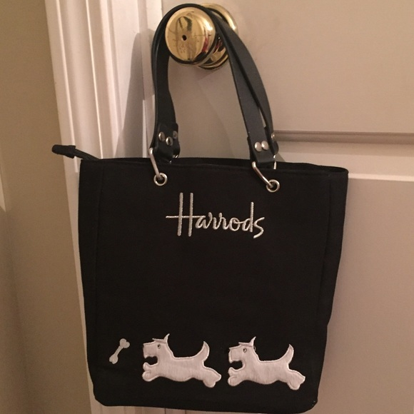 963f7261ea HARRODS Scottie Dog Handbag from London