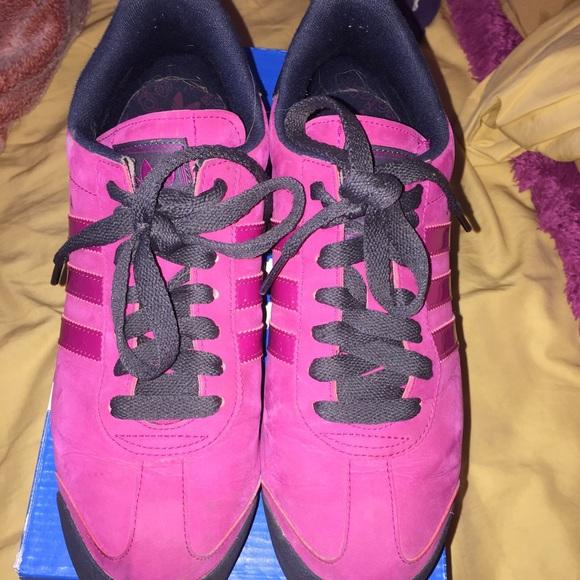 Adidas Shoes - Suede Pink Purple Soma Adidas (Women) aa316fac6b
