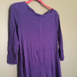 Like new soft surroundings purple tunic
