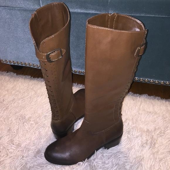 febe7f797fb61 Arturo Chiang Barrett Leather Riding Boots