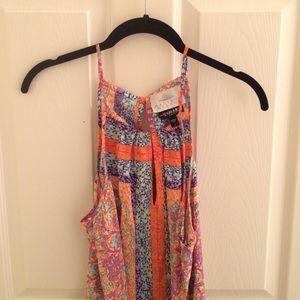 Silk maternity dress NWOT