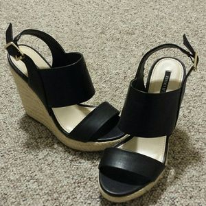 Forever 21 Wedge Heels. Size 6.5 US.