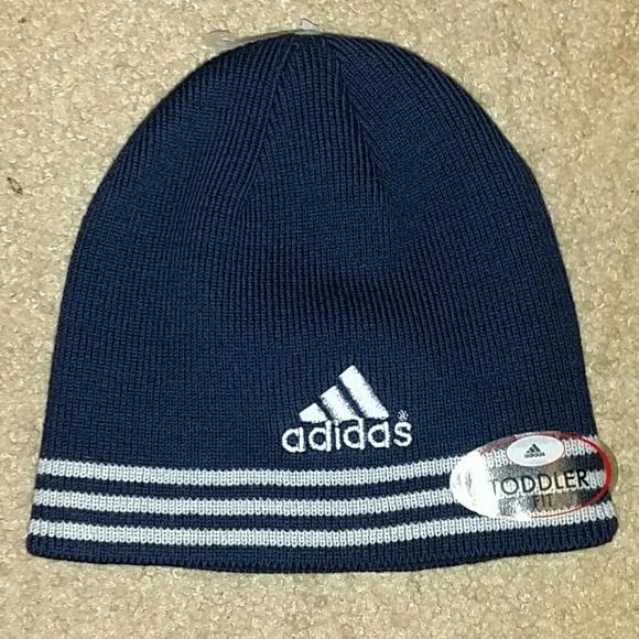 Boys toddler adidas winter hat NWT 273402704445
