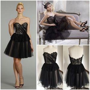 Alvina Valenta Dresses & Skirts - GLAM BLACK BALLERINA TULLE COCKTAIL DRESS
