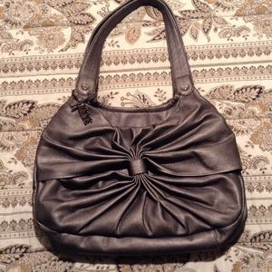 Modern bow purse
