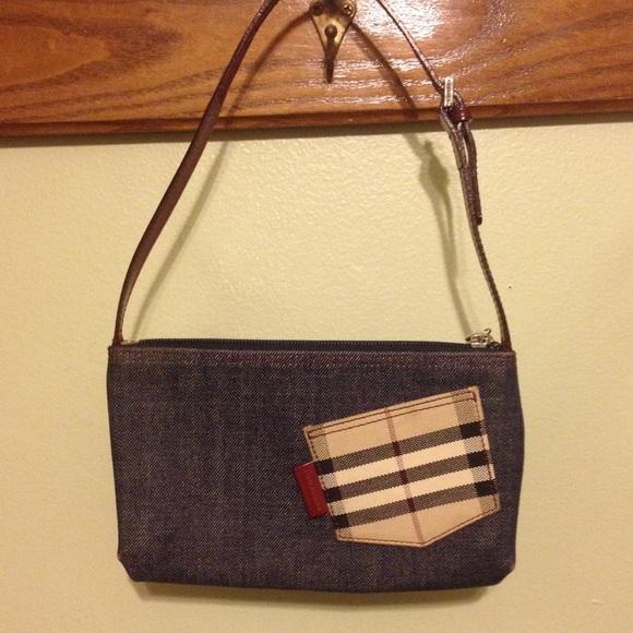 0d33be7ff68c Burberry Handbags - Guaranteed authentic Burberry denim bag