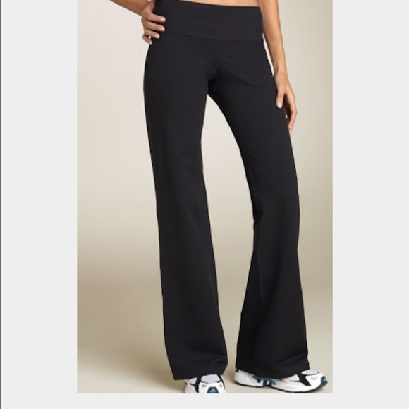 77% off Zella Pants - Zella wide leg yoga pants extra small from ...
