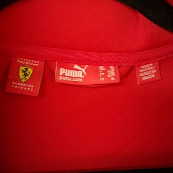 Pumas Pour Les Hommes Vestes Ferrari nXB2aPCbF0