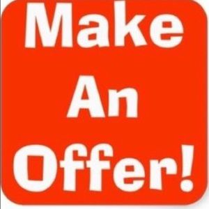 Other - Why not make an offer!!! ☘☘☘