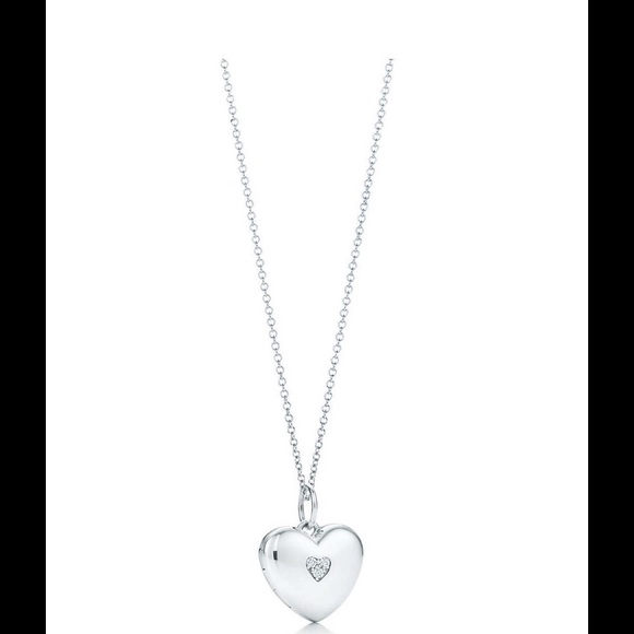 c40332206 Tiffany & Co. Jewelry | Authentic Tiffany Co Diamond Locket Diamond ...