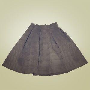 Express Black High Waist Full Skirt