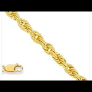 Jewelry - 22 in 1.4m 925 Sterling 18 K Gold Plated Chain‼️