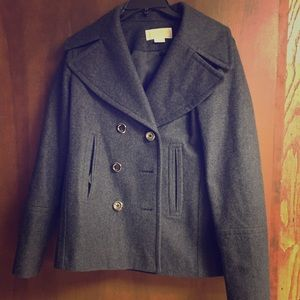 Michael Kors pea coat, size M