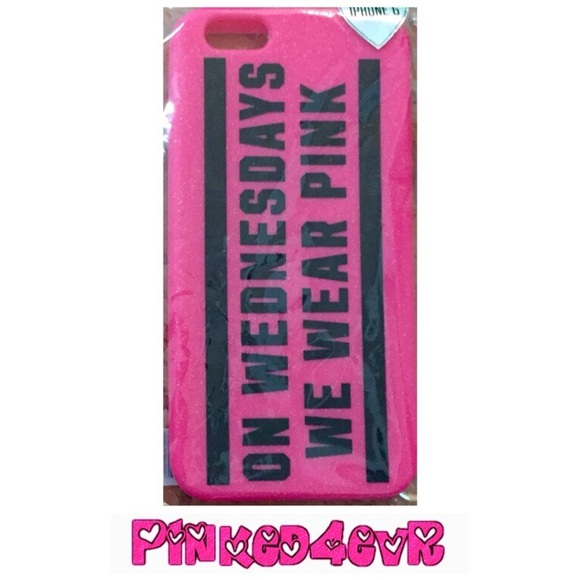 save off 7b74e f80ad VS PINK Mean Girls iPhone 6 Case NEW Boutique