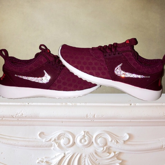 Nike Juvenate in Burgundy with Swarovski Crystals