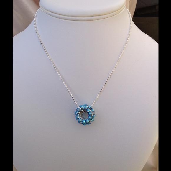 Swarovski jewelry chrome hex nut pendant crystals 1630 poshmark chrome hex nut pendant swarovski crystals 16 30 aloadofball Gallery