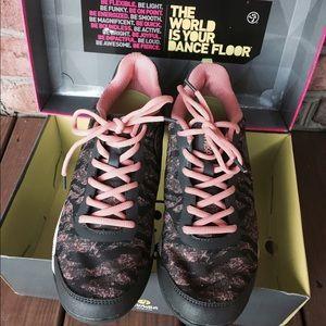 Zumba footwear zumba impact pulse, scarpe da ginnastica da