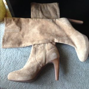 NEW Max Azria Leather/Suede Boots!!