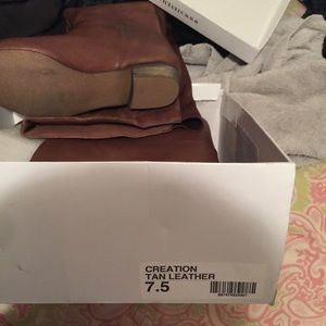 Brand new beautiful brown Steve Madden boots brown