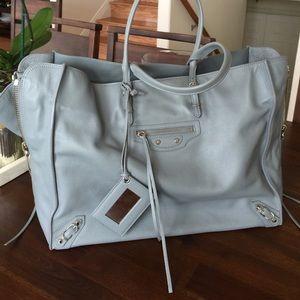 c34ec5ed78 Balenciaga Bags - NEW Balenciaga Papier A4 zip around leather tote