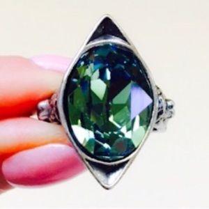 La Fée Verte - Absinthe Fairy Swarovski Ring