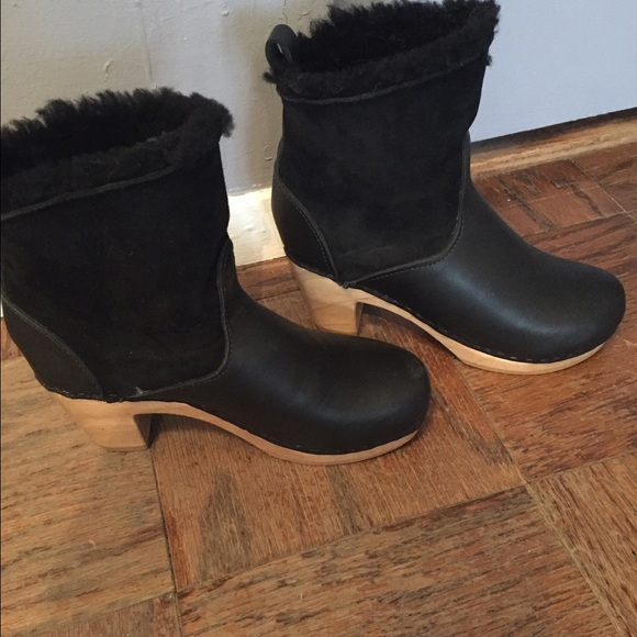 Cheap For Cheap Womens Shearling-Lined Ankle Boots No.6 Store Discount Manchester k6mb5TZ