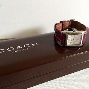 Very Pretty  Authentic Pink Coach Watch!