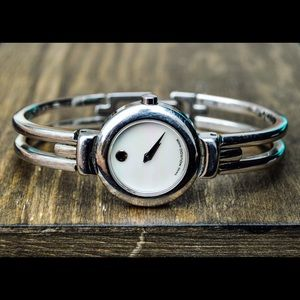 Movado Stainless Steel Watch