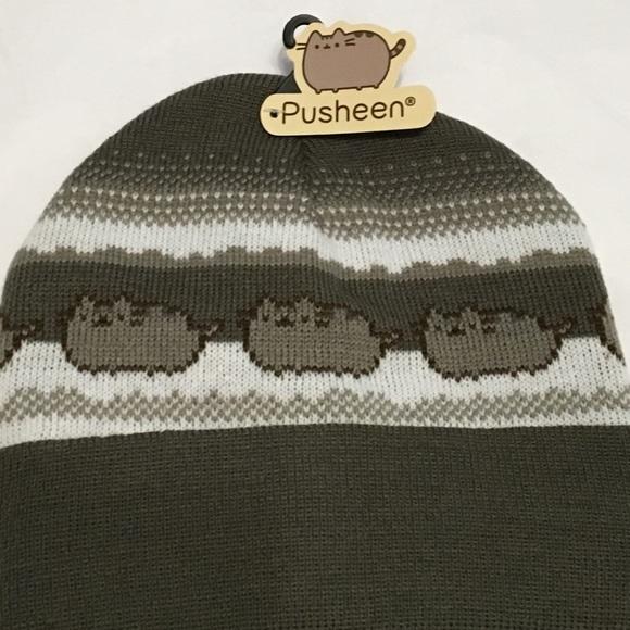 f983f93d502 Brand New Pusheen Winter Beanie hat. M 566b337f5c12f870a6005bf9