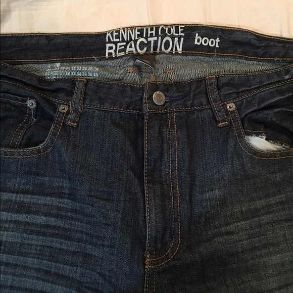 4f9ac5c4 Kenneth Cole Reaction Other - Kenneth Cole men's boot cut jeans 36x34