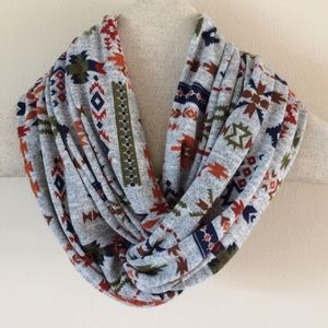 Daisy Jane | Native Print Infinity Scarf