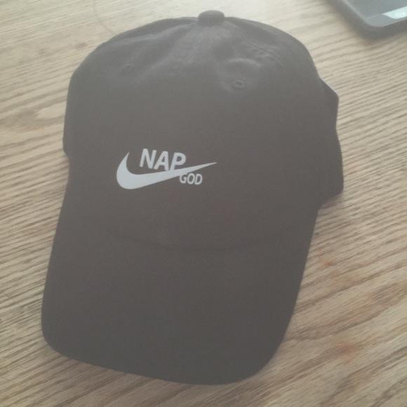 4d191b66a1f Nap God hat adjustable with tuck pocket