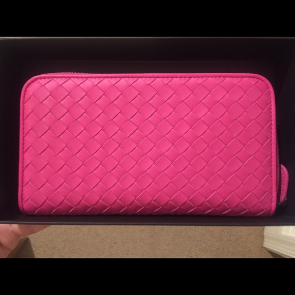 Bottega Veneta Wallet Pink