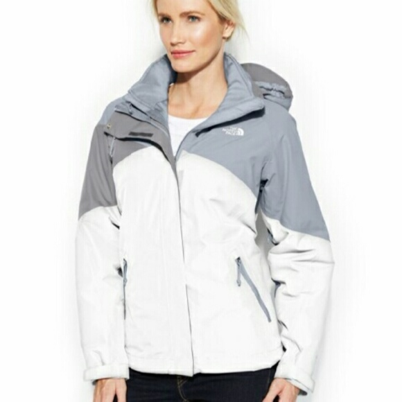 4b1a79ed9 NORTH FACE HOODED CINNABAR TRICLIMATE JACKET NWT