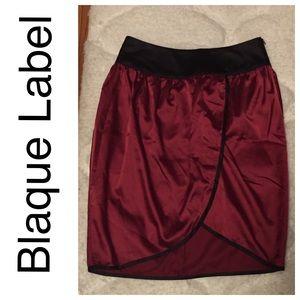 Blaque Label Dresses & Skirts - ✂️Sale✂️Blaque Label faux wrap skirt NWT