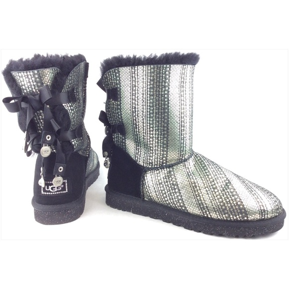 black uggs with rhinestones