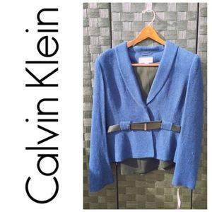 NWT Calvin Klein Sapphire/ Black 2 Piece Set