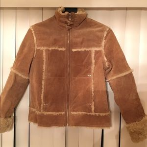 Wilsons Leather Faux Fur Jacket