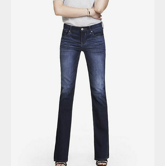 80% off Express Denim - EXPRESS | STELLA BOOTCUT JEANS from