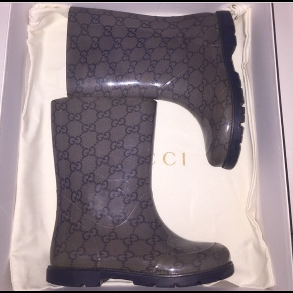 46cd0211977 Gucci Other - Gucci kids rain boots