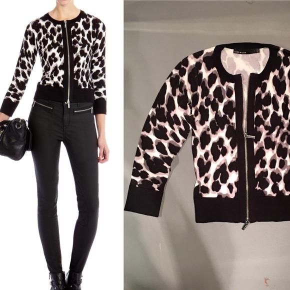 78% off Karen Millen Sweaters - Karen Millen leopard printed ...