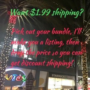 Get Discount Shipping on Bundles!