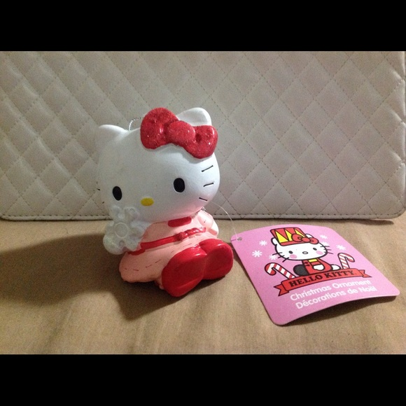 Hello Kitty Christmas Ornament Nwt
