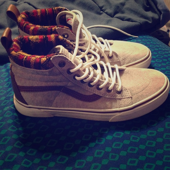 Vans Limited Mountain Edition Gray High