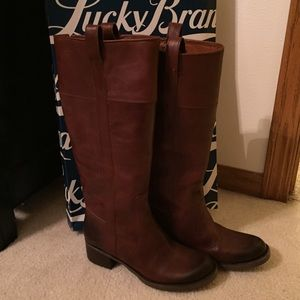 Lucky Brand Shoes - ❌‼️SOLD‼️❌Lucky Brand Hibiscus Boots ~ Sz. 8.5