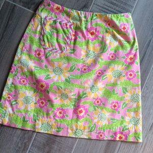 Lilly Pulitzer Dresses & Skirts - Alligator Skirt: preppy chic!