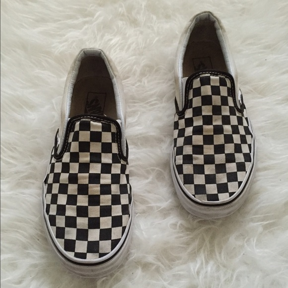 Vans Shoes | Black And White Checkered