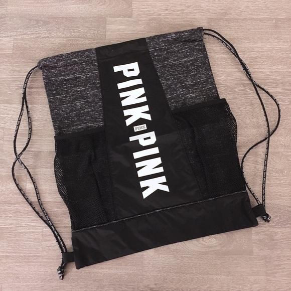 PINK Victoria's Secret - NEW Victoria's Secret PINK Drawstring Bag ...