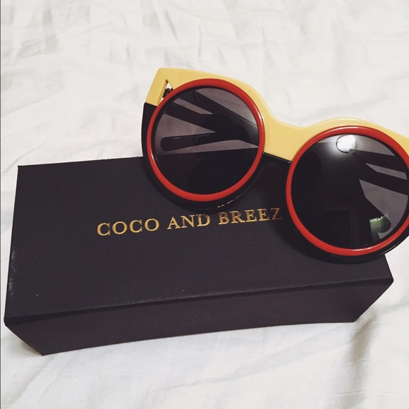 5f991b43db3 Coco and breezy Accessories - Thelma in yellow Coco and breezy sunglasses